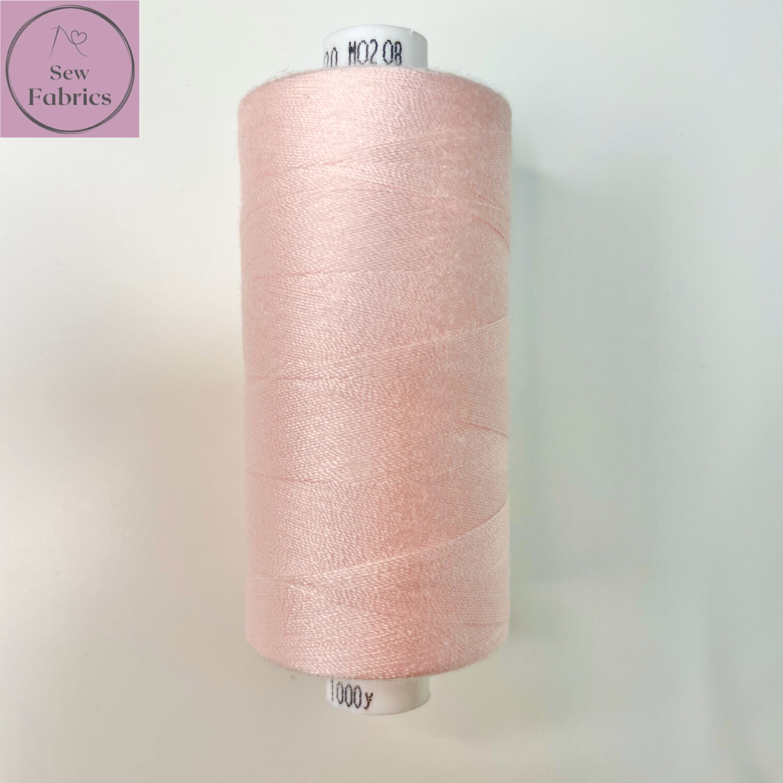 1 x 1000y Coats Moon Thread - Powder Pink M208