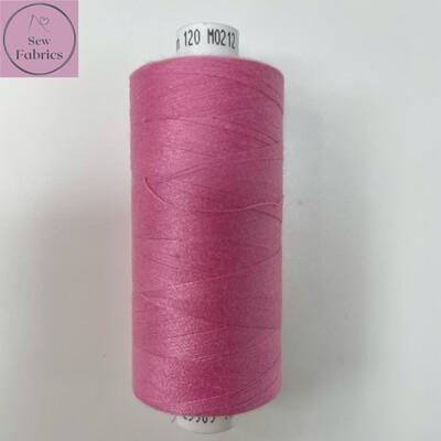 1 x 1000y Coats Moon Thread - Peony Pink M212