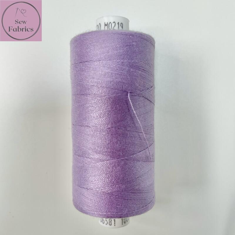 1 x 1000y Coats Moon Thread - Lavender M219