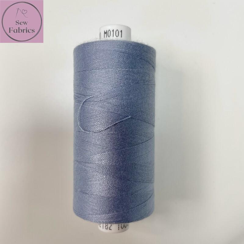 1 x 1000y Coats Moon Thread - Cornflower Blue M101