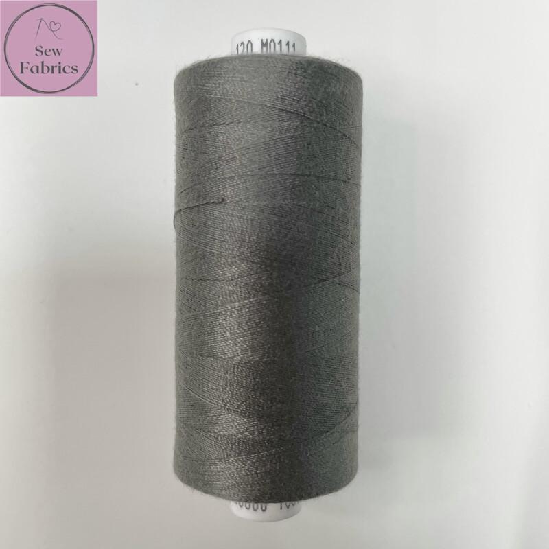 1 x 1000y Coats Moon Thread - Grey M111