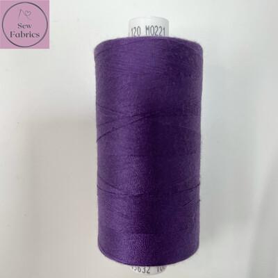 1 x 1000y Coats Moon Thread - Deep Purple M221