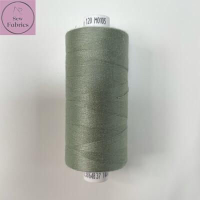 1 x 1000y Coats Moon Thread - Mid Grey M105