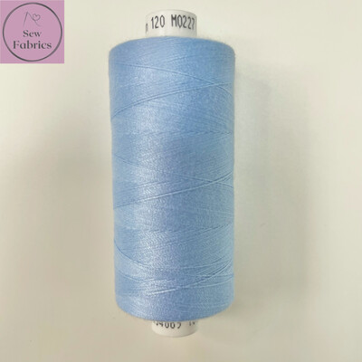 1 x 1000y Coats Moon Thread - Light Blue M227