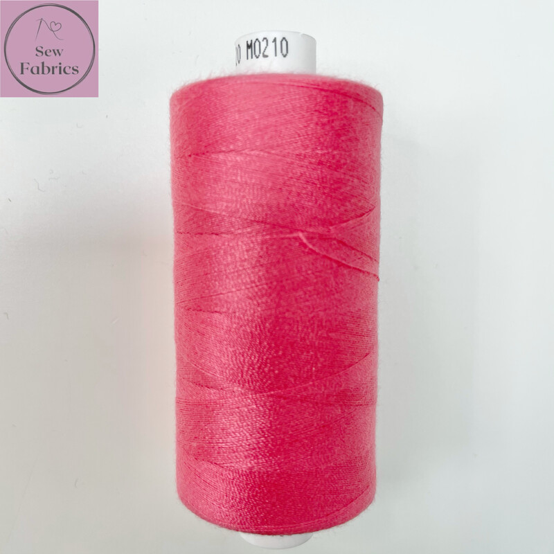 1 x 1000y Coats Moon Thread - Hot Pink M210