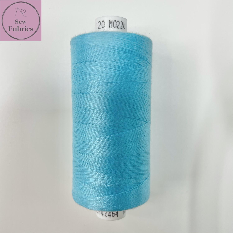 1 x 1000y Coats Moon Thread - Aqua M224