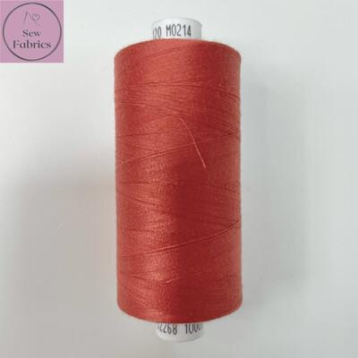 1 x 1000y Coats Moon Thread - Rust M214