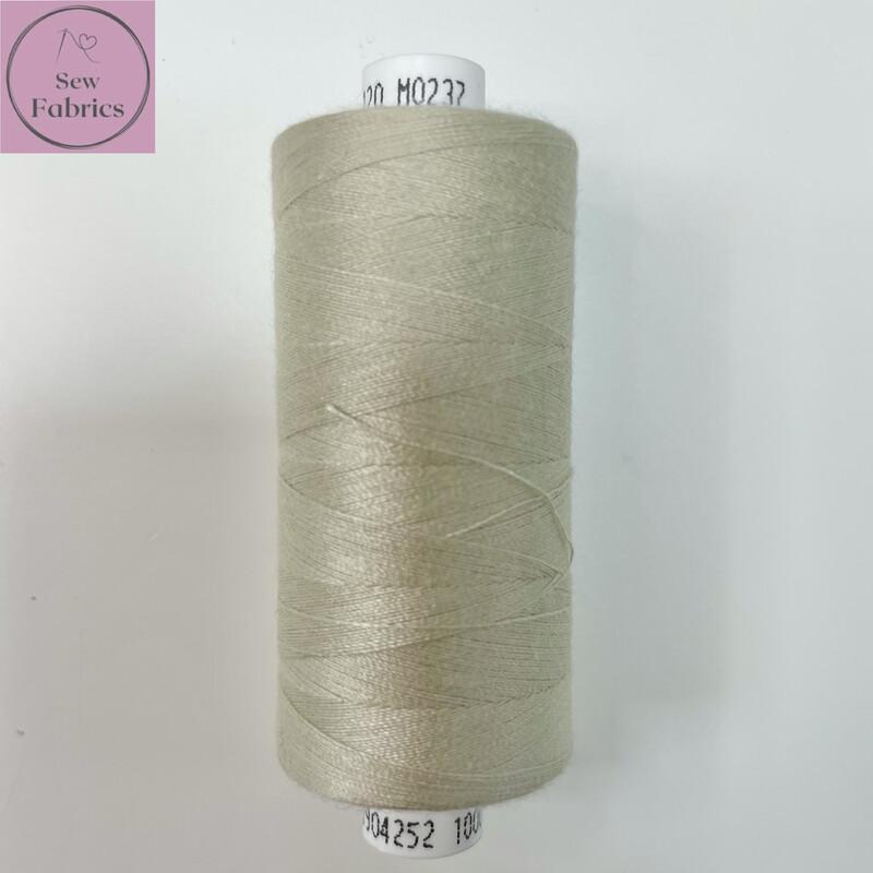 1 x 1000y Coats Moon Thread - Oatmeal M237