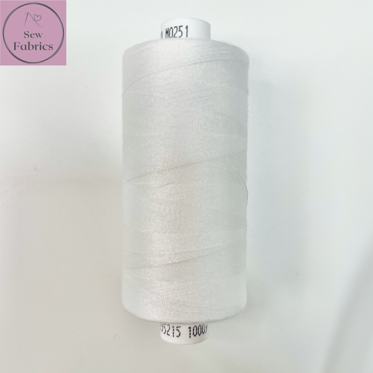 1 x 1000y Coats Moon Thread - Off White M251