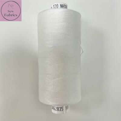 1 x 1000y Coats Moon Thread - Natural