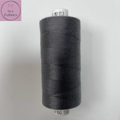 1 x 1000y Coats Moon Thread - Grey M113