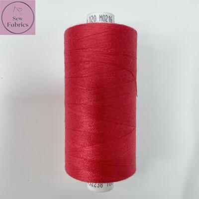 1 x 1000y Coats Moon Thread - Red Wine M216