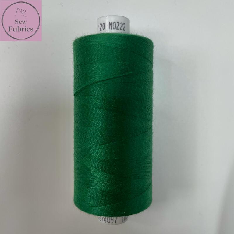 1 x 1000y Coats Moon Thread - Forest Green M222