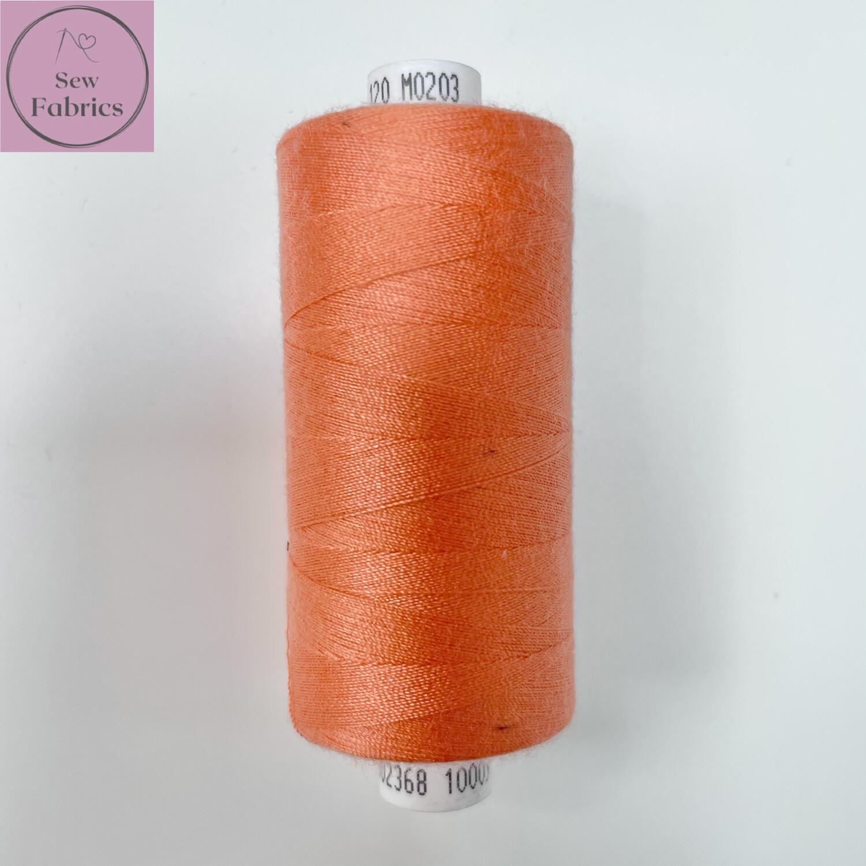 1 x 1000y Coats Moon Thread - Coral M203