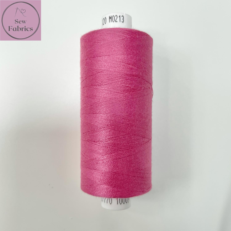 1 x 1000y Coats Moon Thread - Raspberry M213