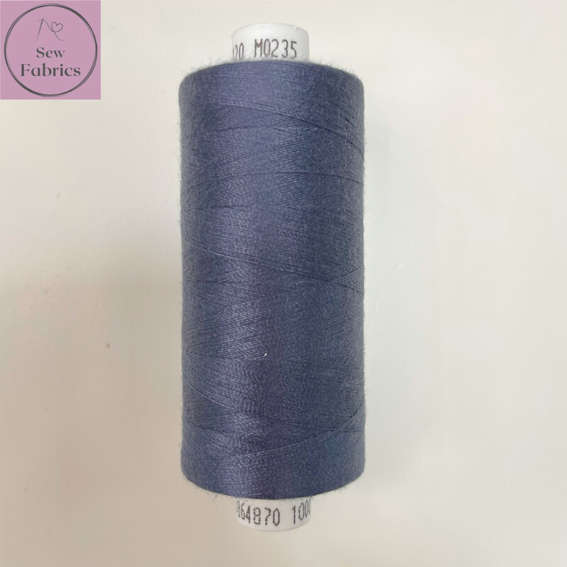 1 x 1000y Coats Moon Thread - Airforce Blue M235