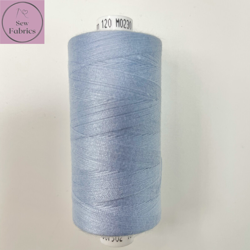 1 x 1000y Coats Moon Thread - Pale Blue M230