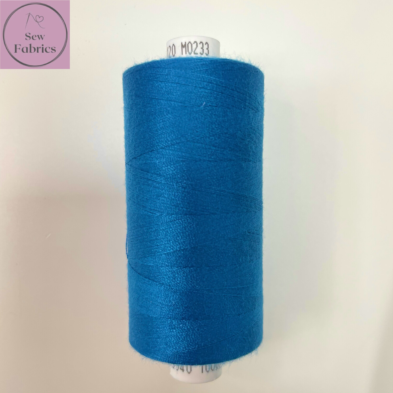 1 x 1000y Coats Moon Thread - Cobalt Blue M233