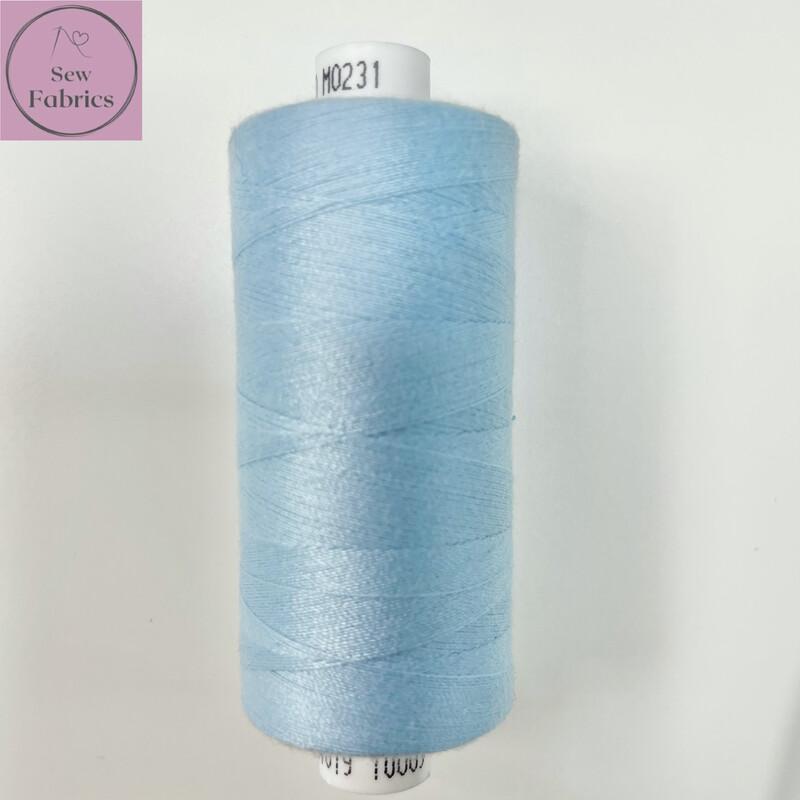 1 x 1000y Coats Moon Thread - Ice Blue M231