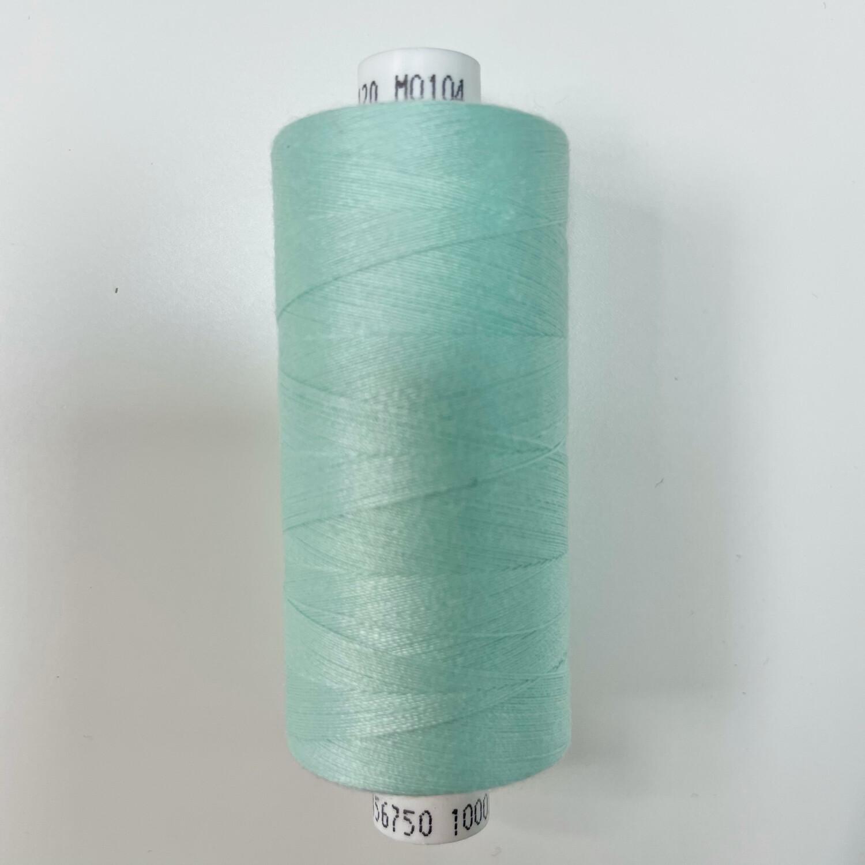 1 x 1000y Coats Moon Thread - Spearmint Green M104