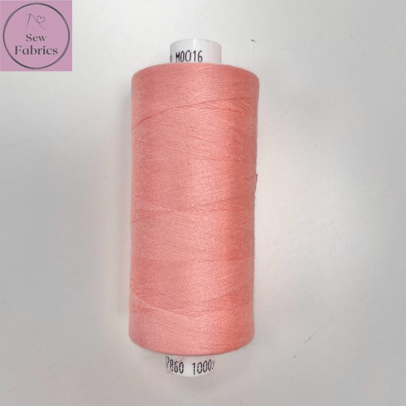 1 x 1000y Coats Moon Thread -  Rose Pink M016