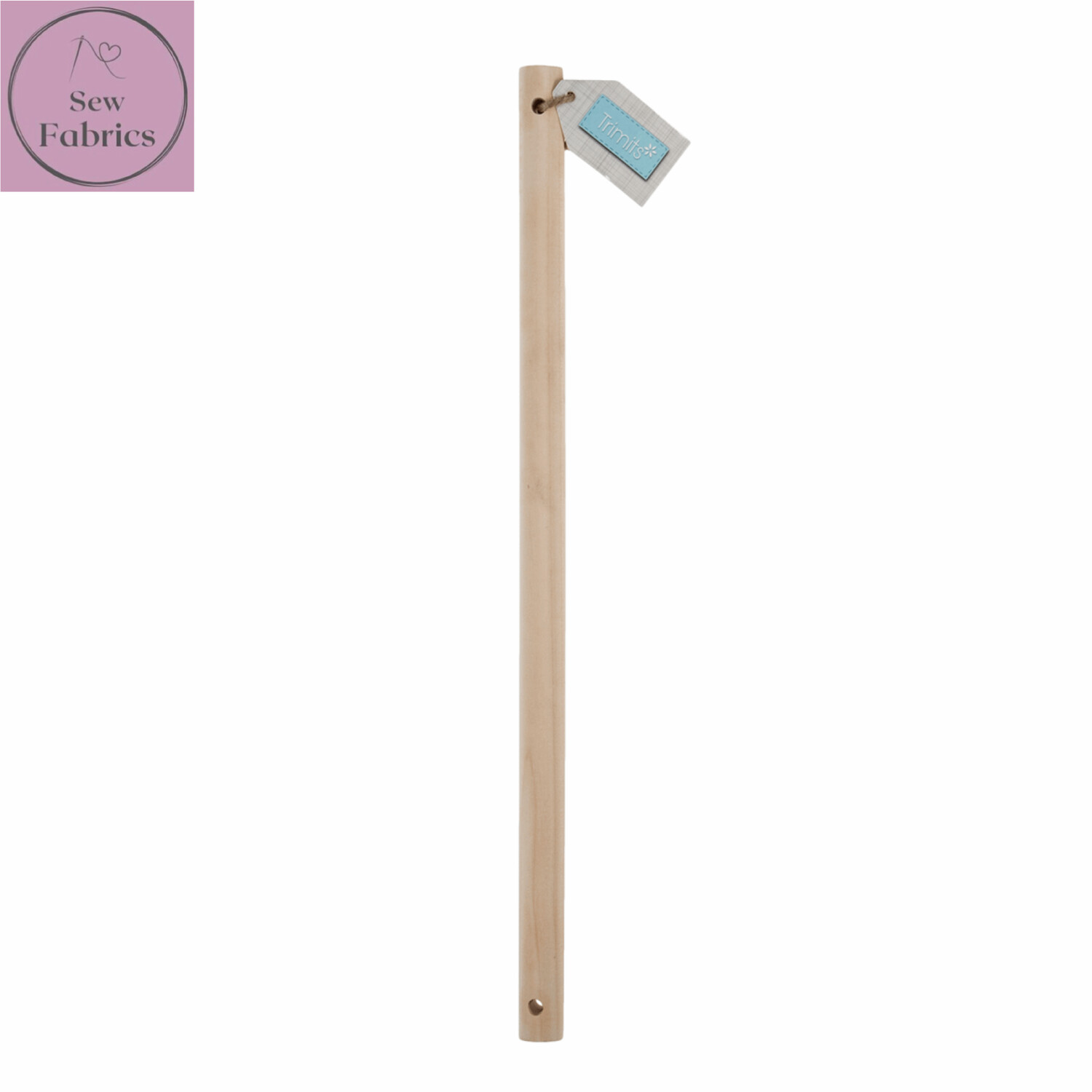 Birch Wooden Dowel 30cm x 15mm for Macrame, Wall hanging projects