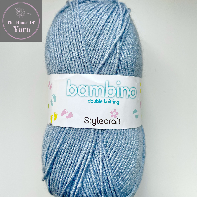 Blue Mist, Stylecraft Bambino DK 100% Premium Acrylic Wool