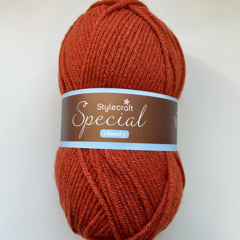 Copper 1029 Special Chunky Stylecraft Special DK 100% Premium Acrylic Wool Yarn