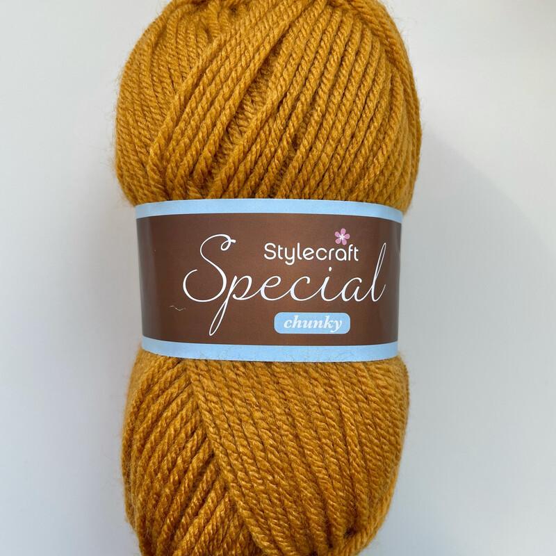 Gold 1709 Special Chunky Stylecraft Special DK 100% Premium Acrylic Wool Yarn