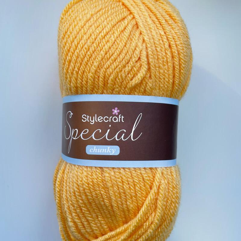 Saffron 1081 Special Chunky Stylecraft Special DK 100% Premium Acrylic Wool Yarn