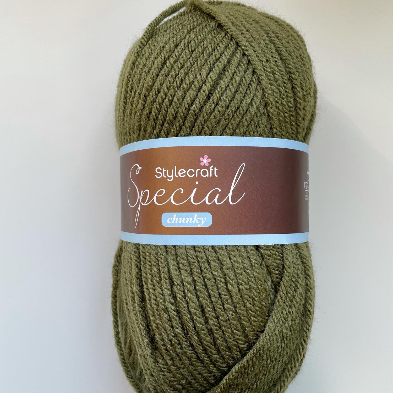 Khaki 1027 Special Chunky Stylecraft Special DK 100% Premium Acrylic Wool Yarn