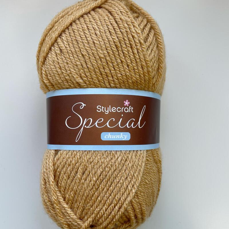 Camel 1420 Special Chunky Stylecraft Special DK 100% Premium Acrylic Wool Yarn