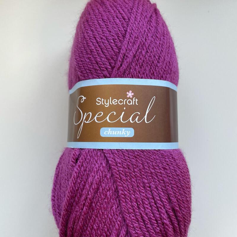 Plum 1061 Special Chunky Stylecraft Special DK 100% Premium Acrylic Wool Yarn