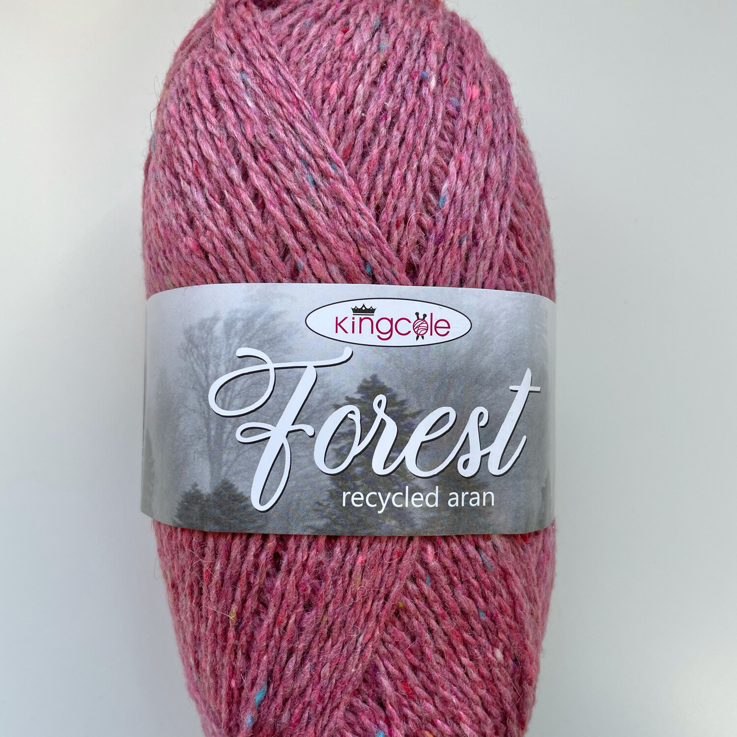King Cole Forest Aran 100% Recycled Yarn containing 35% Wool - Sherwood Forest