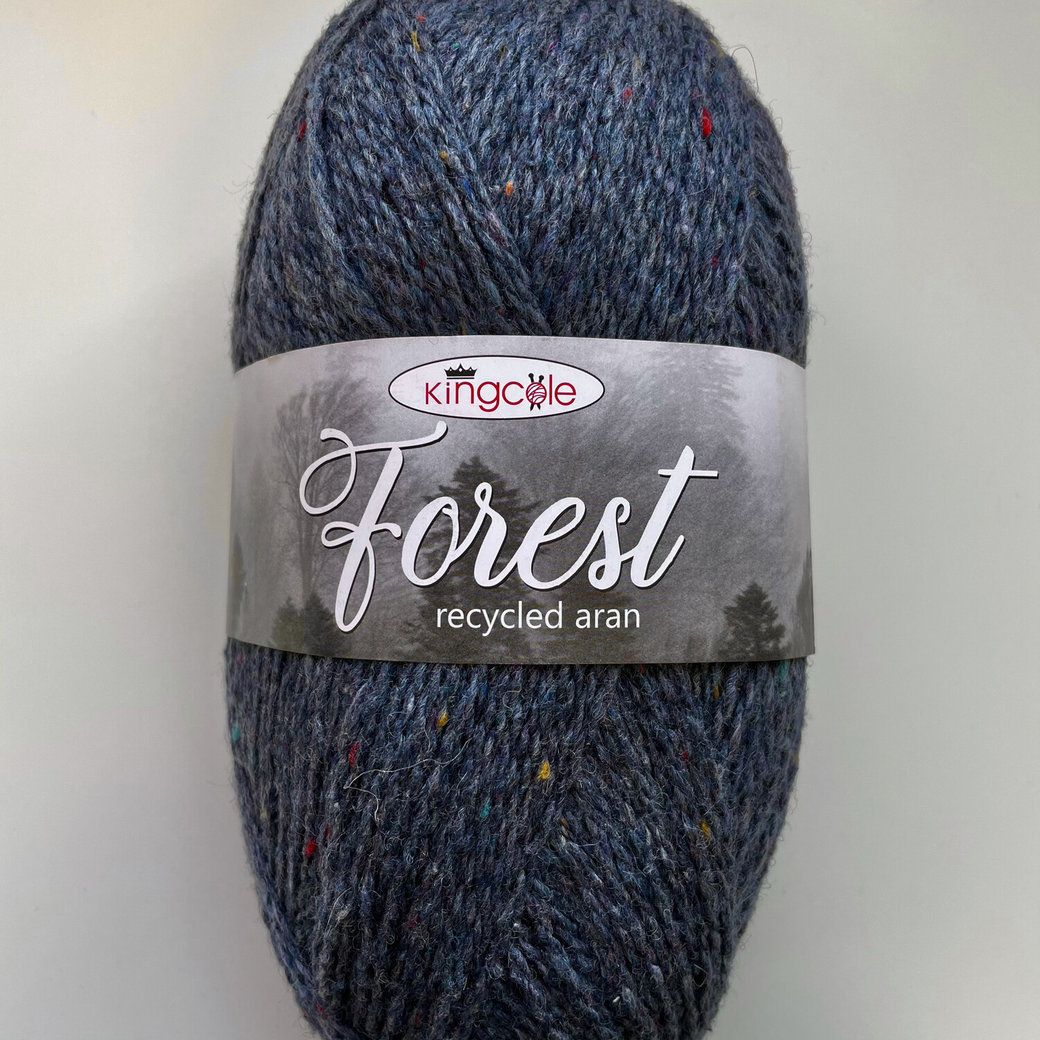King Cole Forest Aran 100% Recycled Yarn containing 35% Wool - Kielder Forest