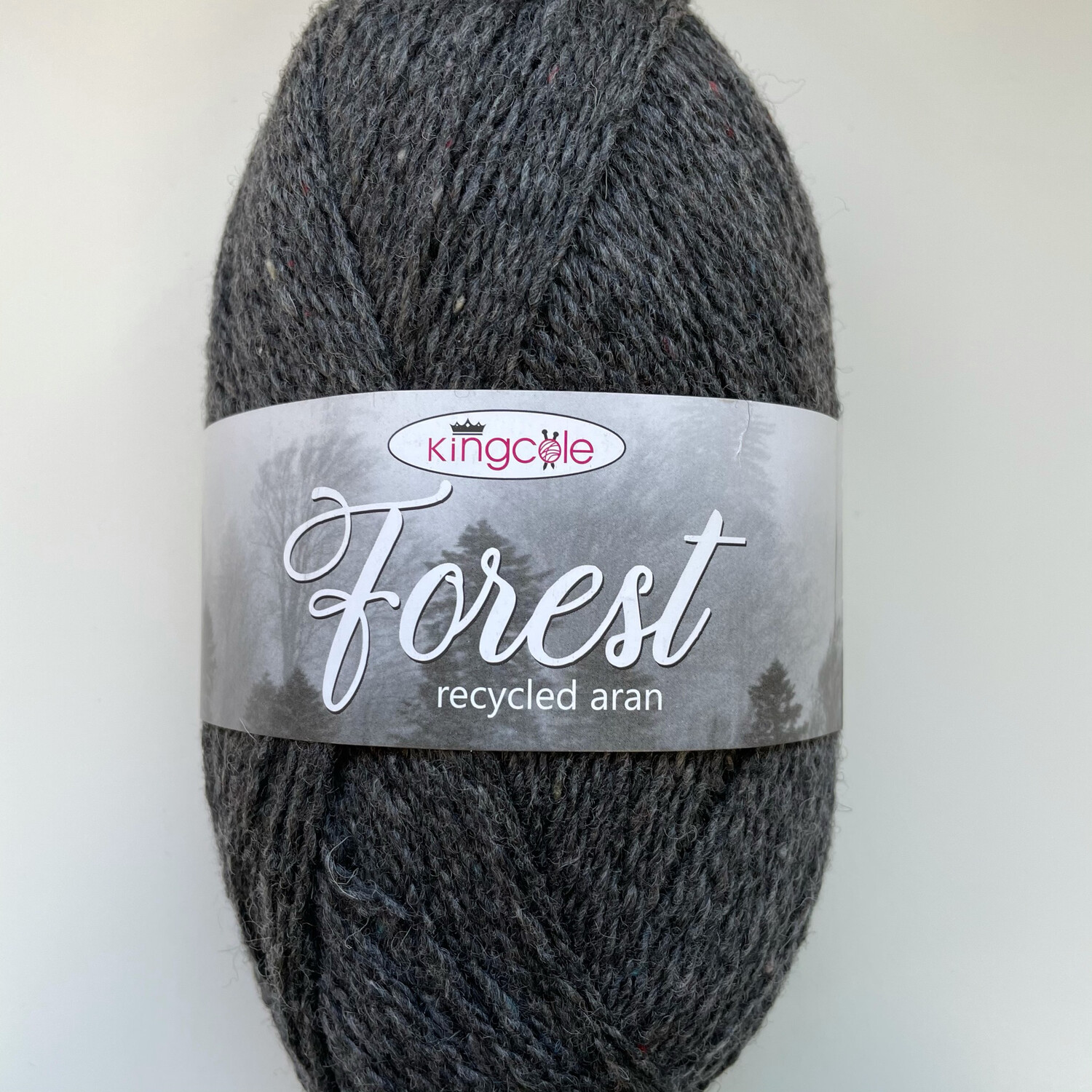 King Cole Forest Aran 100% Recycled Yarn containing 35% Wool - Gisburn Forest