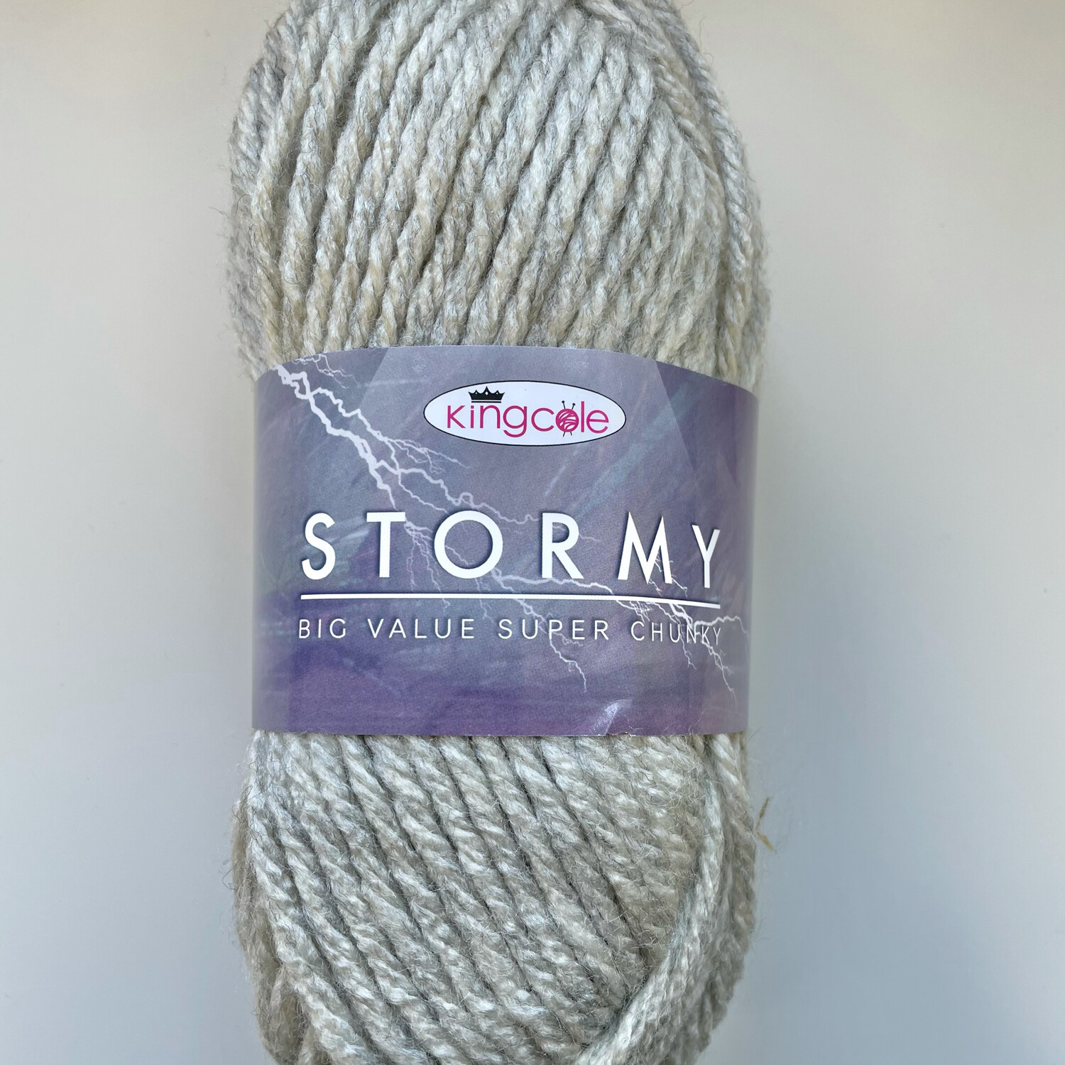 King Cole Big Value Super Chunky Stormy - Hail