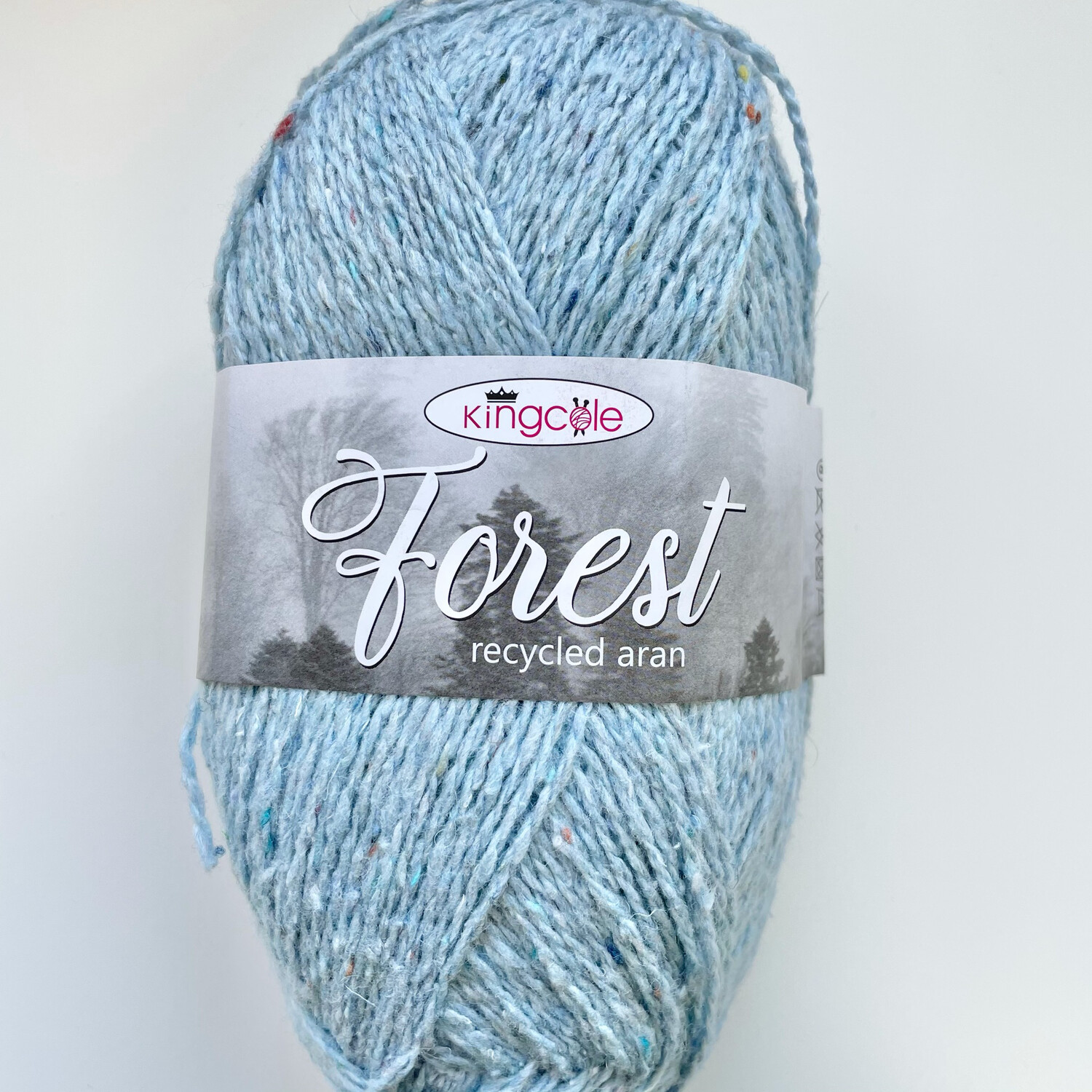 King Cole Forest Aran 100% Recycled Yarn containing 35% Wool - Balvain Forest