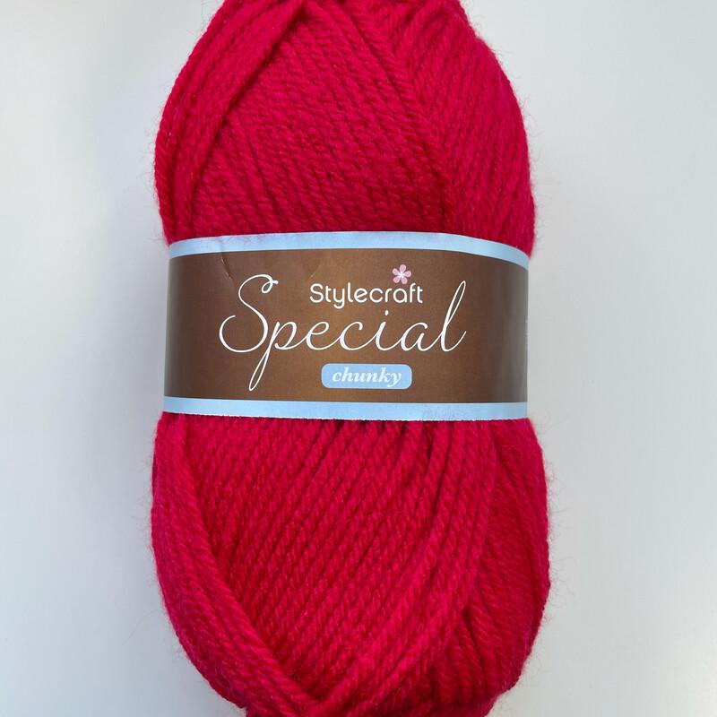 Lipstick 1246 Special Chunky Stylecraft Special DK 100% Premium Acrylic Wool Yarn