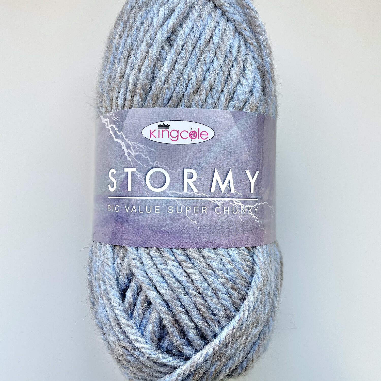 King Cole Big Value Super Chunky Stormy - Sleet