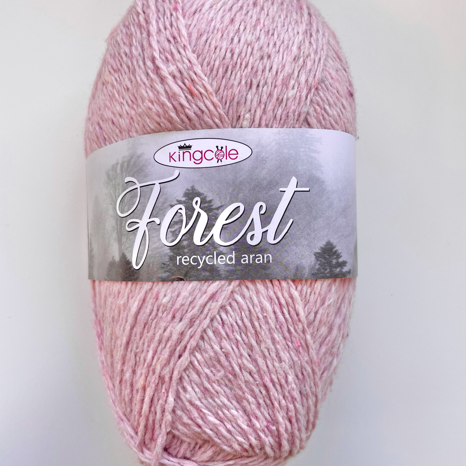 King Cole Forest Aran 100% Recycled Yarn containing 35% Wool - Wyre Forest