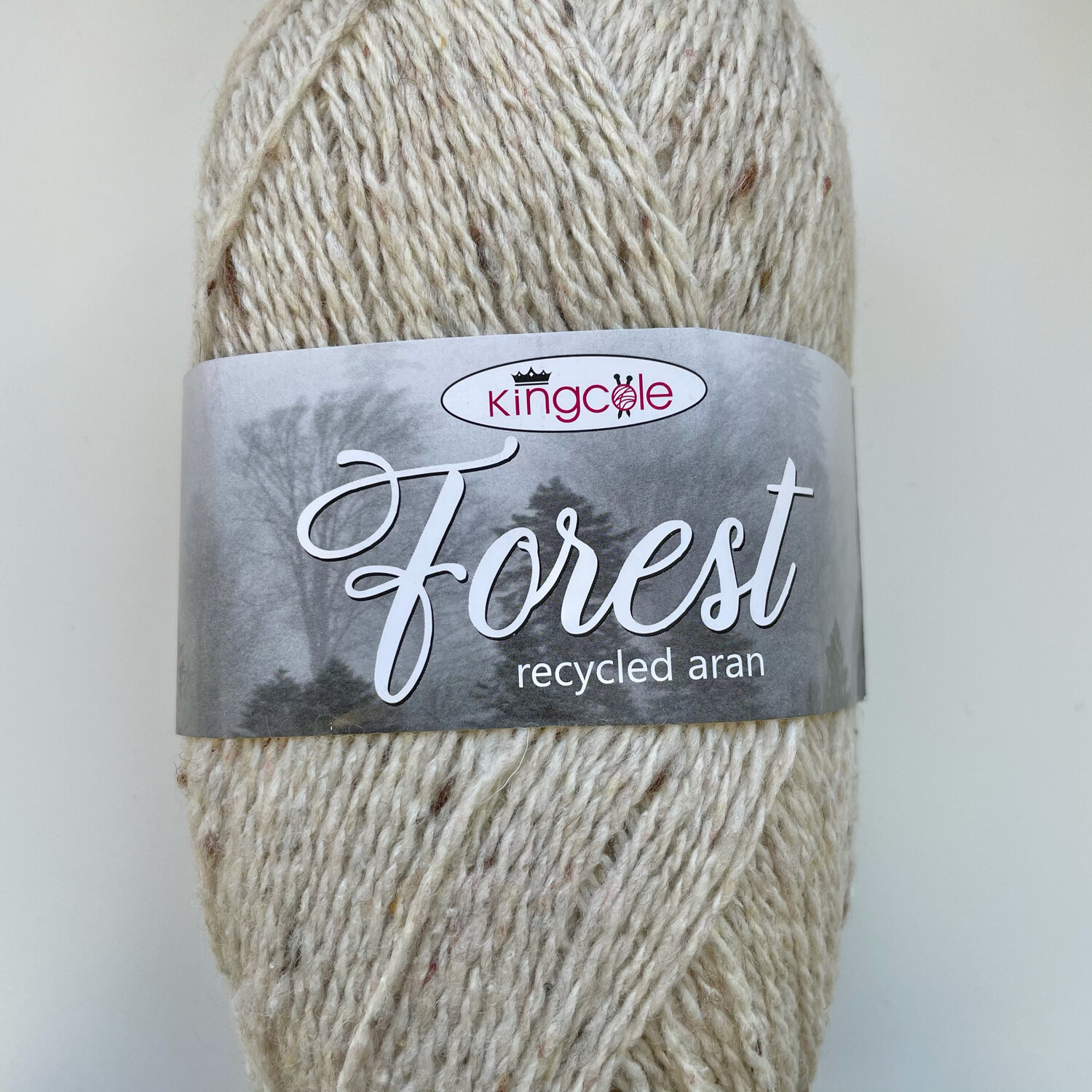 King Cole Forest Aran 100% Recycled Yarn containing 35% Wool - Hartwood Forest