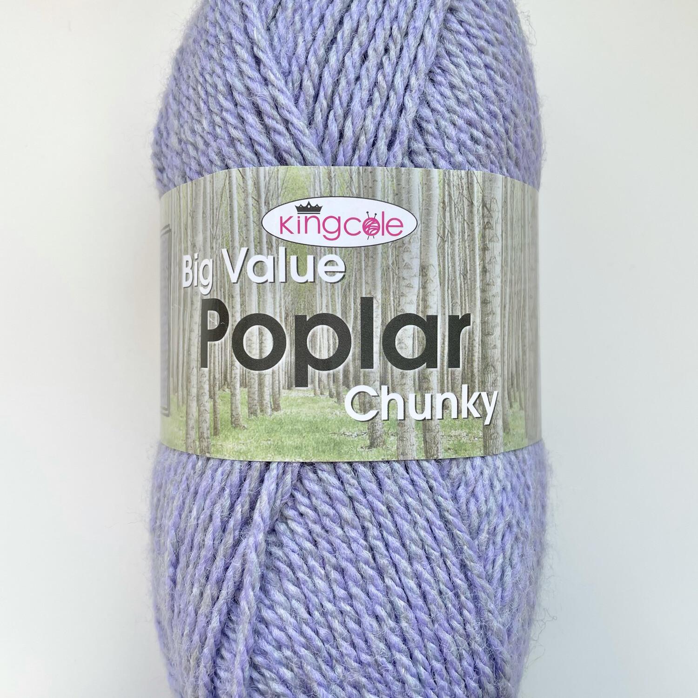 King Cole Big Value Poplar Chunky - Sweet Lavender 4346