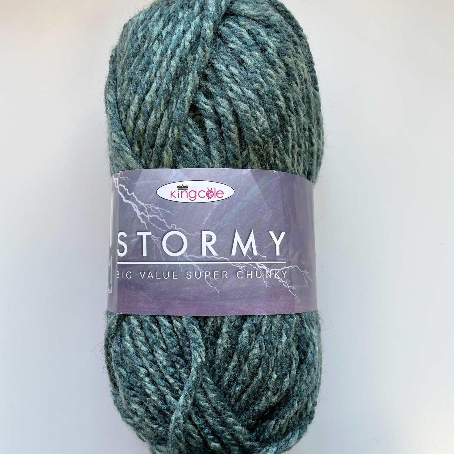 King Cole Big Value Super Chunky Stormy - Cyclone
