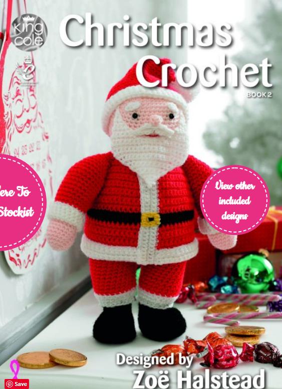 King Cole Christmas Crochet Pattern Book 2