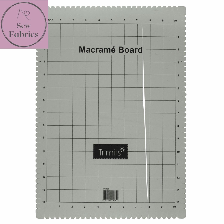 Macrame Project Board: A3: 29.7 x 42cm (12 x 17in)