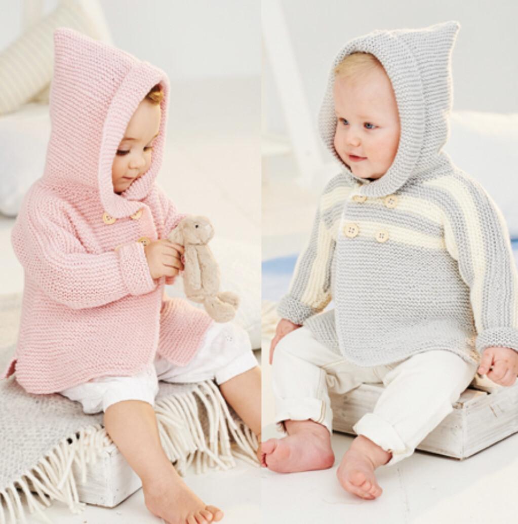 Stylecraft Bambino DK Pattern 9502 Coats 0-3 years