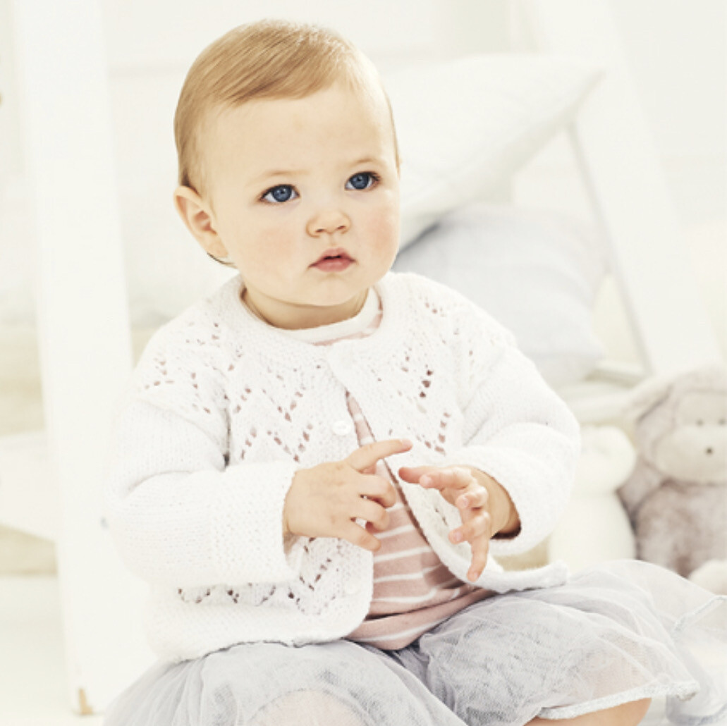 Stylecraft Special for Babies DK Pattern 9678 Cardigan and Sweater