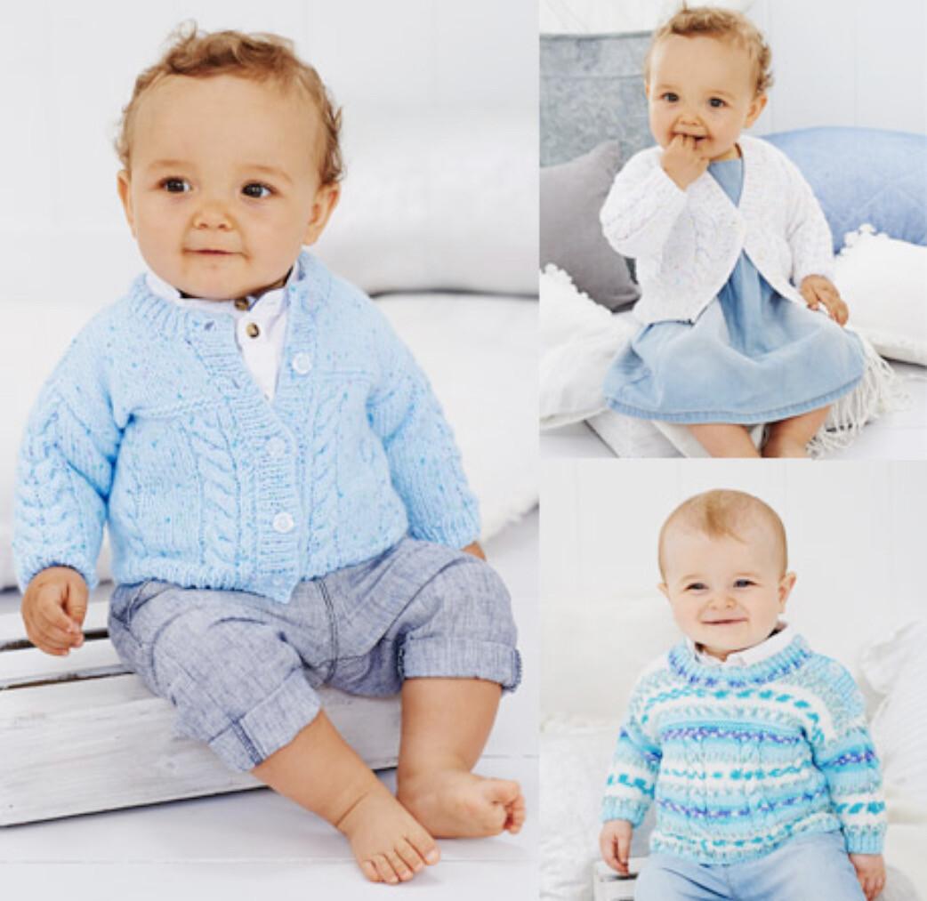 Stylecraft Wondersoft DK Pattern 9478 Cardigans & Sweater