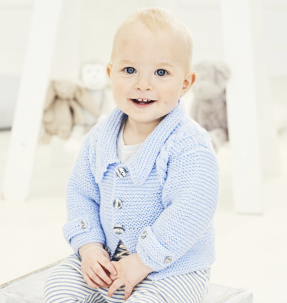 Stylecraft Special for Babies DK Pattern 9680 Jacket and Waistcoat